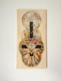 Union / Acrylic On Wood / 24x12