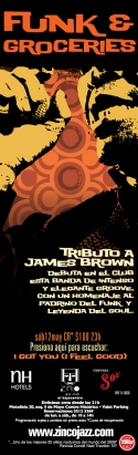 Zinco Jazz Club / Tributo a James Brown