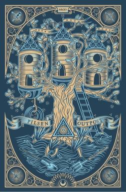 Pilsen Outpost / 1st anniversary Poster