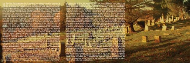 Por la Gloria / CD Insert Layout (Inside)