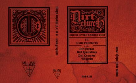 Dirt Church / Cassette Sleeve