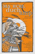 Marcel Duchamp / México Tour Poster