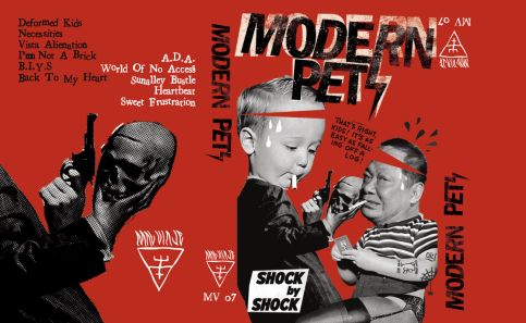 Modern Pets / Cassette Sleeve Layout
