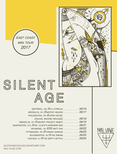 Silent Age / Tour Poster