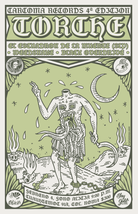 Torche / Show Poster / 11x17